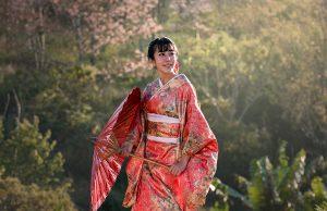 kimono-flower